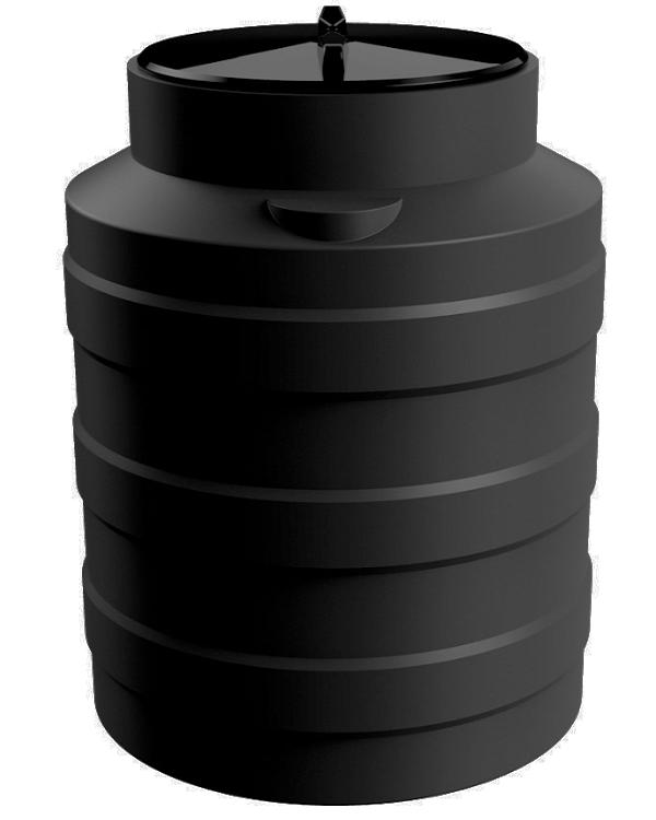Цилиндрическая емкость V 100 литров