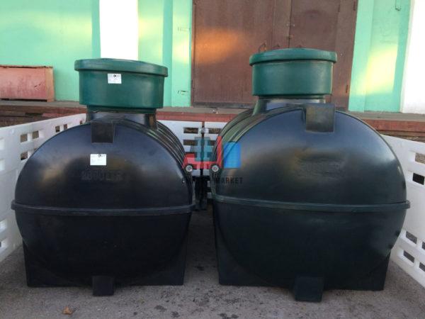 Подземная емкость D 2000 литров