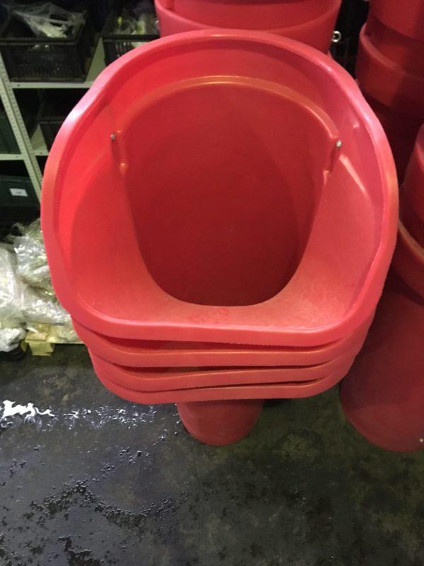 Приемная секция мусорного сброса