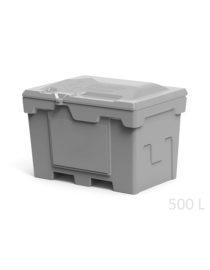 Ящик 500 литров серый